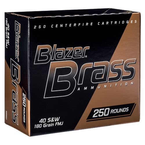 Display product reviews for Blazer Full Metal Jacket .40 S&W 180-Grain Handgun Ammunition