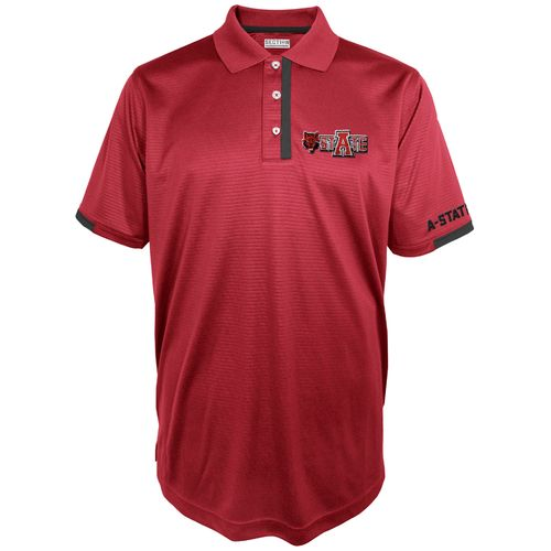 Majestic Men's Arkansas State University Section 101 First Down Polo Shirt