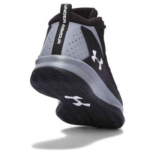 Under Armour Boys' BPS Jet Mid-Top Basketball Shoes - view number 2