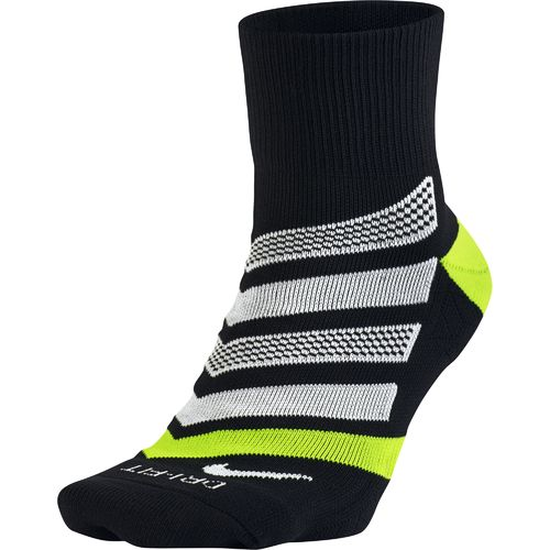 Nike Men's Dri-FIT Cushion Dynamic Arch Quarter Running Socks