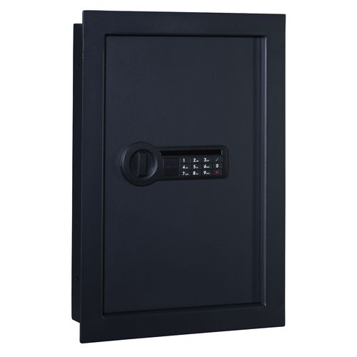 Stack-On In-Wall Electronic Lock Safe