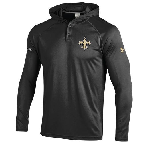 Under Armour™ NFL Combine Authentic Men's New Orleans Saints NFL F16 UA Tech™ Hoodie