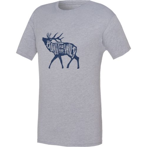 YETI Men's Built for the Wild Bugling Elk T-shirt