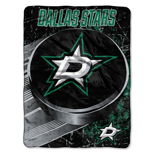 The Northwest Company Dallas Stars 40 Yard Dash Micro Raschel Throw