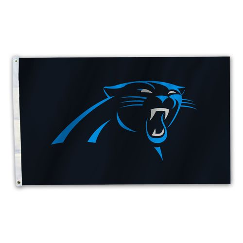 BSI Carolina Panthers 3' x 5' Fan Flag - view number 1