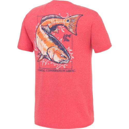 CCA Men's Redfish Sketch T-shirt