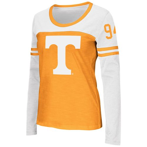 Colosseum Athletics™ Women's University of Tennessee Hornet Football Long Sleeve Shirt
