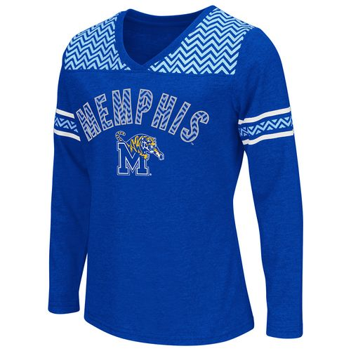 Colosseum Athletics™ Girls' University of Memphis Cupie Long Sleeve Shirt