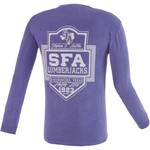 Image One Men's Stephen F. Austin State University Finest Shield Comfort Color Long Sleeve T-shi
