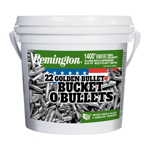 Remington .22 LR 36-Grain Hollow-Point Rimfire Rifle Ammunition