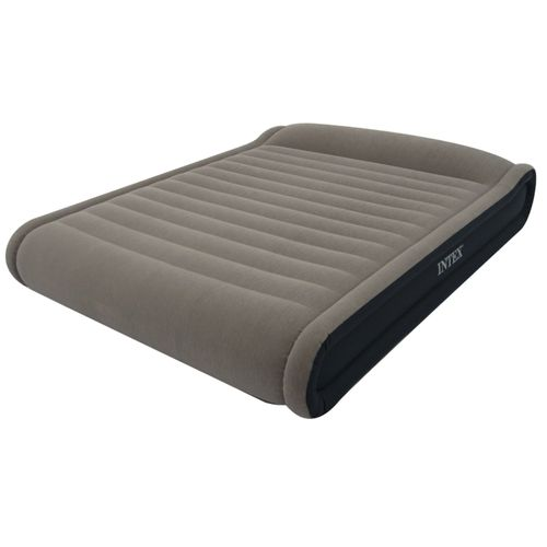 INTEX Deluxe Mid Rise Pillow Rest Queen Airbed