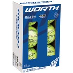 Worth ProTac 12 in ASA Slow-Pitch Softballs 6-Pack - view number 1