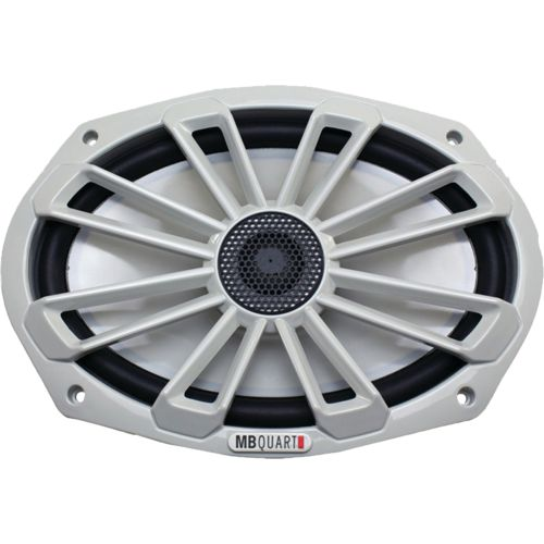 MB Quart Nautic Series 140W 6 in x 9 in 2-Way Coaxial Marine Speaker
