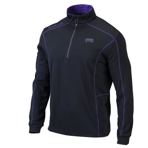 Columbia Sportswear™ Men's Texas Christian University Shotgun 1/4 Zip Pullover