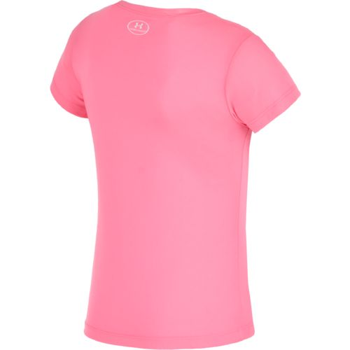 Under Armour™ Toddler Girls' You Sweat I Sparkle Short Sleeve T-shirt - view number 2