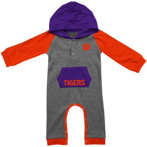 Colosseum Athletics™ Infants' Clemson University Robin Hood Onesie II