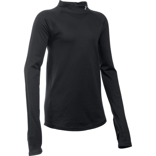 Under Armour Girls' ColdGear Mock Neck Shirt