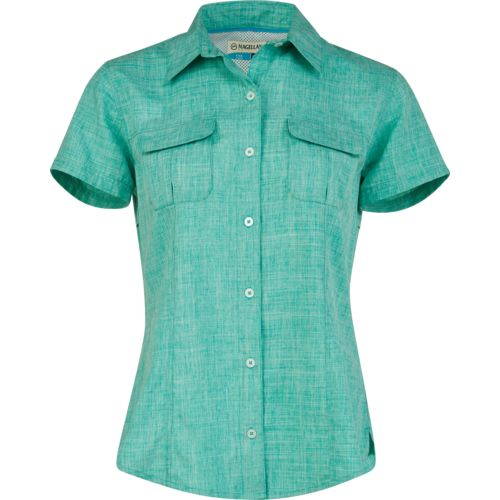 Display product reviews for Magellan Outdoors Women's Aransas Pass Heathered Fishing Top