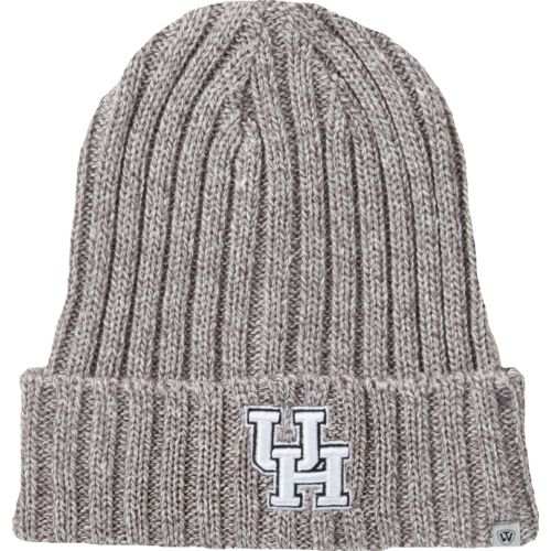 Top of the World Men's University of Houston Two Below Cuffed Knit Cap