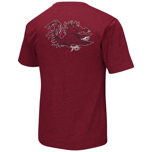 Colosseum Athletics™ Men's University of South Carolina Banya Pocket T-shirt - view number 2