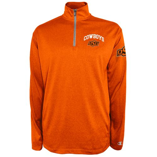 Champion™ Men's Oklahoma State University Victory 1/4 Zip Pullover - view number 1