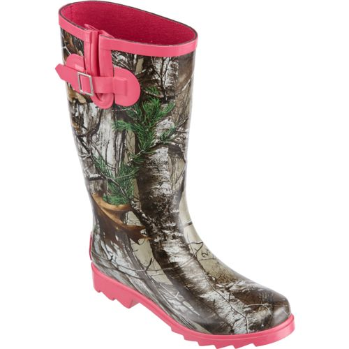 Austin Trading Co. Women's Realtree Xtra Rubber Boots - view number 2