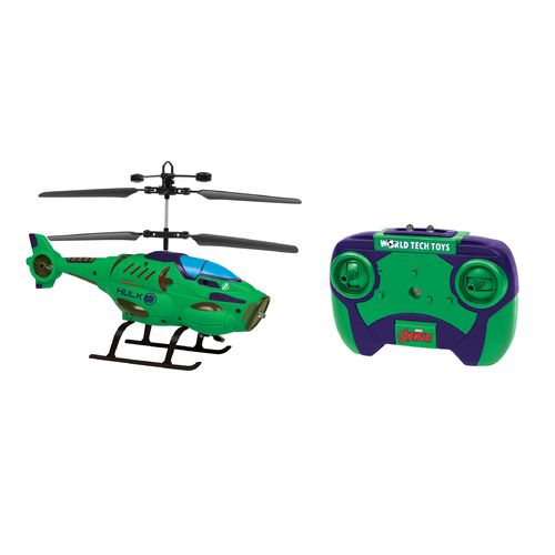 World Tech Toys Marvel Hulk Shaped IR Helicopter - view number 1
