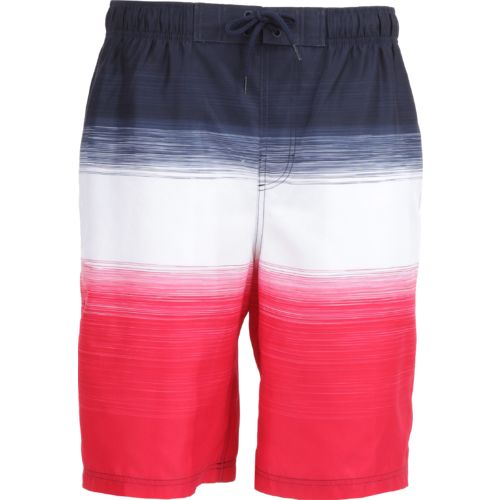 O'Rageous Men's Americana Stripe E Boardshort
