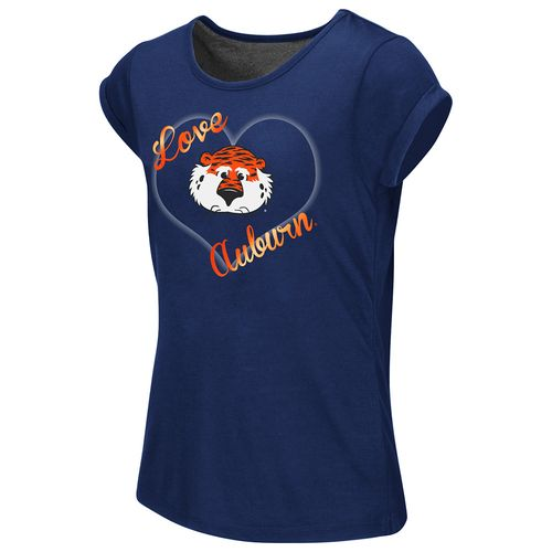 Colosseum Athletics™ Girls' Auburn University Baywatch Split Back T-shirt