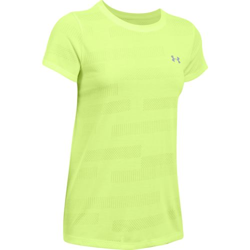 Under Armour Women's Threadborne SSC Jacquard T-shirt