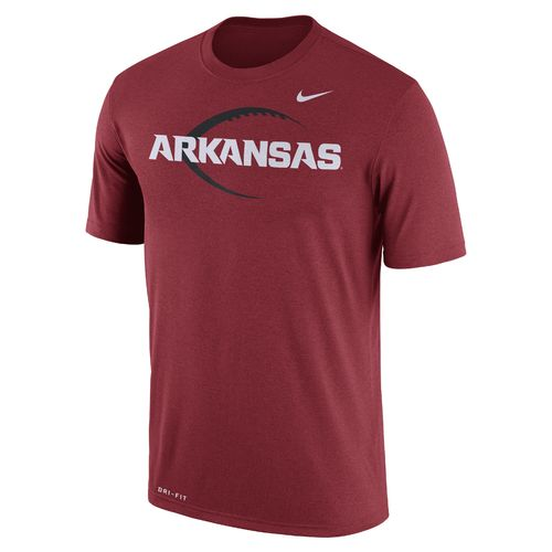 Nike™ Men's University of Arkansas Dri-FIT Legend Icon 17 T-shirt - view number 1
