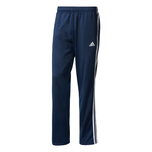 Display product reviews for adidas Men's Essentials 3-Stripes Regular Fit Tricot Pant