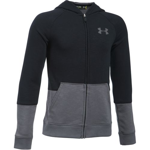 Under Armour Boys' Sportstyle Iso Full Zip Basketball Hoodie
