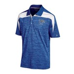 Champion™ Men's University of Memphis Synthetic Colorblock Polo Shirt - view number 1