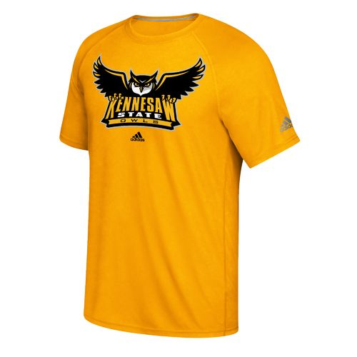 adidas Men's Kennesaw State University School Logo Ultimate T-shirt - view number 1