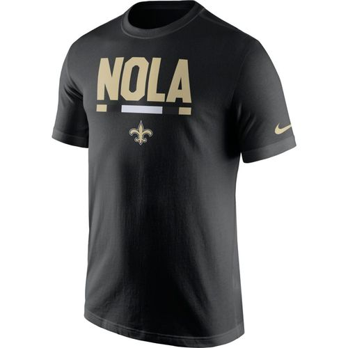 Nike Men's New Orleans Saints Local Verbiage T-shirt - view number 1