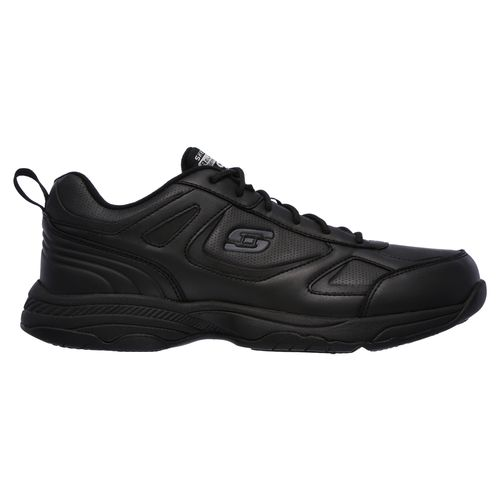 SKECHERS Men's Work Relaxed Fit Dighton SR Service Shoes