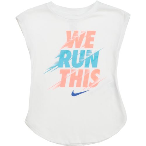 Nike Girls' We Run This Modern T-shirt