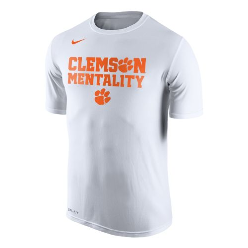Nike Men's Clemson University Dri-FIT Legend 2.0 Short Sleeve T-shirt