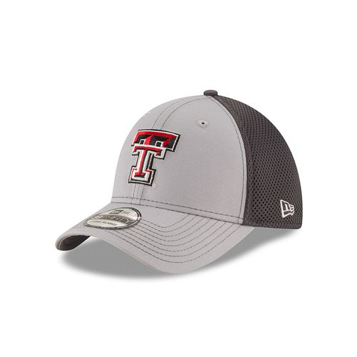 New Era Men's Texas Tech University Grayed Out Neo 39THIRTY Cap - view number 1