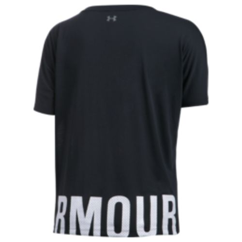Under Armour Women's Wordmark Hem Cropped Top - view number 2