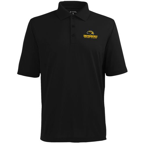 Antigua Men's University of Southern Mississippi Pique Xtra-Lite Polo Shirt - view number 1