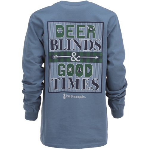 Love & Pineapples Women's Deer Blinds T-shirt