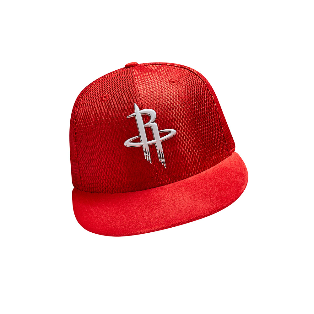 New Era Men's Houston Rockets 59FIFTY Team On Court Cap