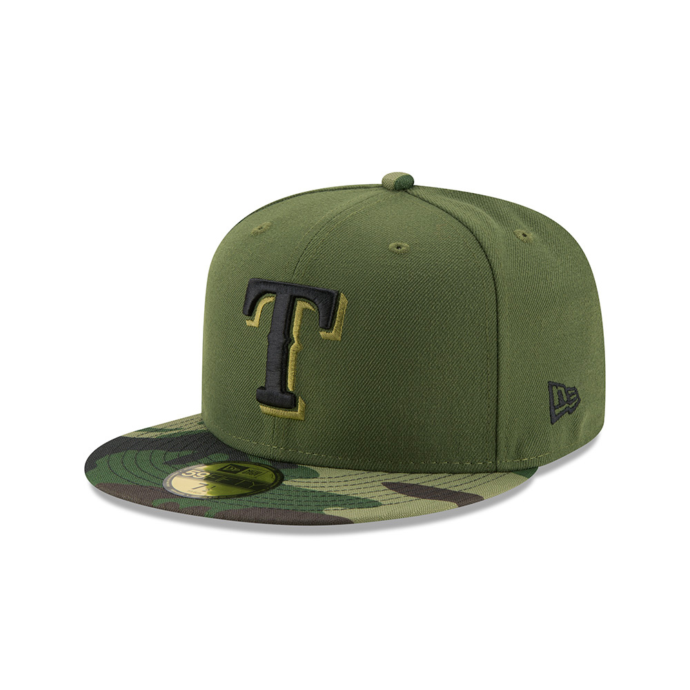 New Era Men's Texas Rangers SE17 Memorial Day 59FIFTY Cap