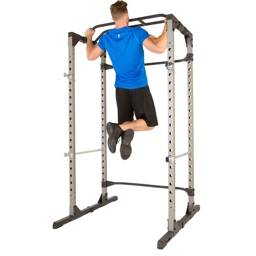 Fitness Reality 810XLT Super Max Power Cage with 800 lbs Capacity Super Max 1000 Bench Set - view number 4
