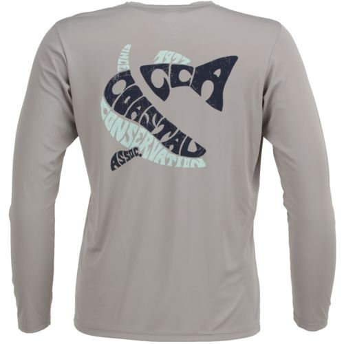 Display product reviews for CCA Men's Performance Letter Logo Long Sleeve T-shirt