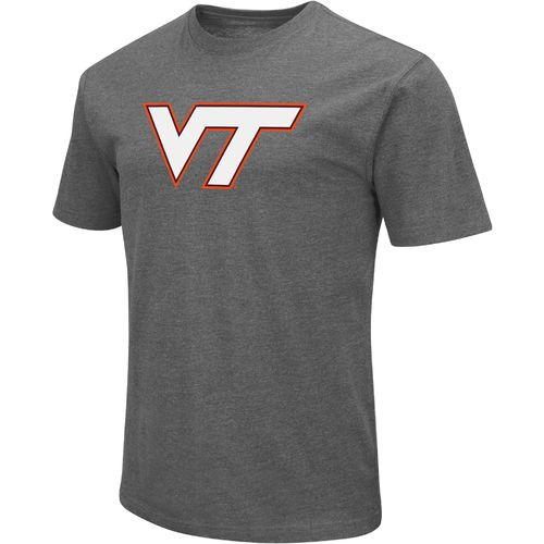 Colosseum Athletics Men's Virginia Tech Logo Short Sleeve T-shirt