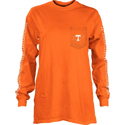 Three Squared Juniors' University of Tennessee Mystic Long Sleeve T-shirt