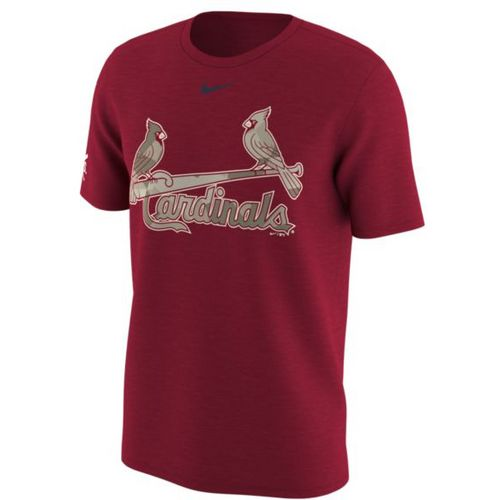 Nike Men's St. Louis Cardinals Memorial Day 2017 T-shirt - view number 1